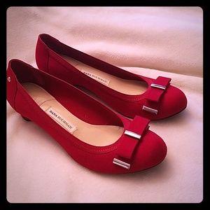 Shoes - Dana Buchman red shoes